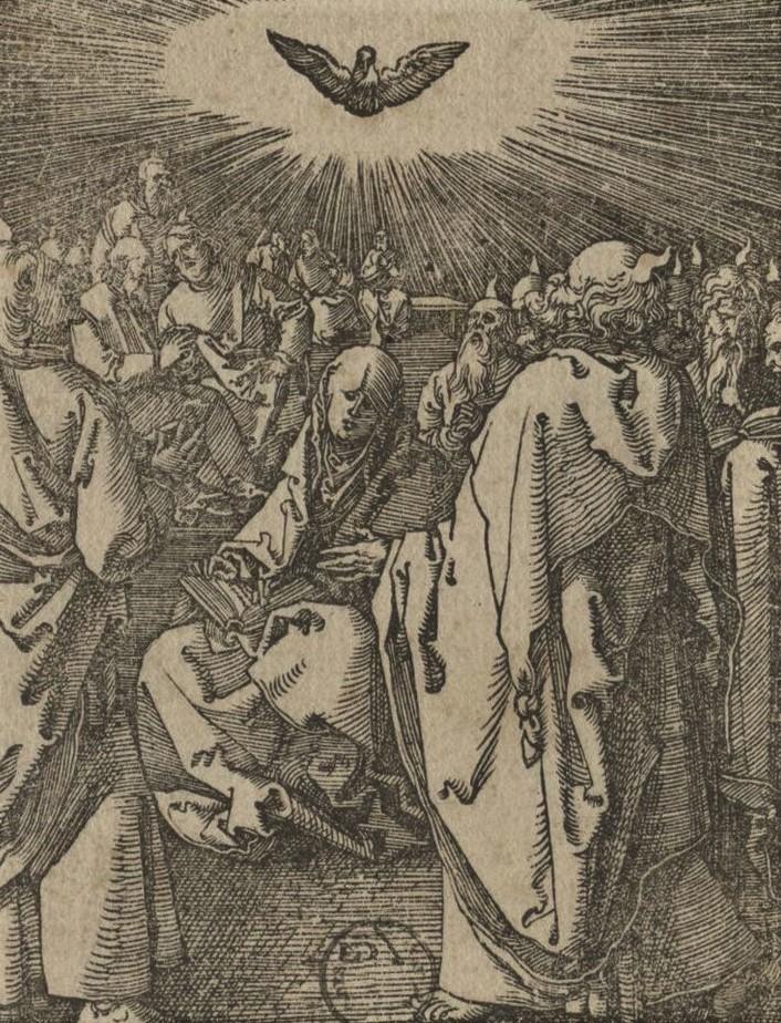Gravure Pentecote